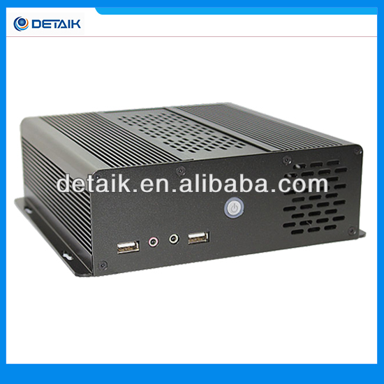 High Configuration ! Embedded Mini PC With Fan / Intel i5 CPU + 4GB RAM + 500GB HDD / 64GB SSD