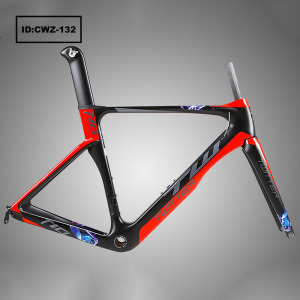 2018 New Design 700 C Carbon Fiber Bike Frame Road Bicycle Frame