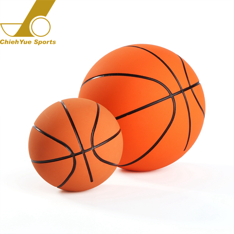 Custom Logo Promotional Gift High Bounce Rubber Hollow Basketball Ball