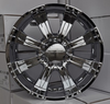 Heavy off-road vehicle alloy wheel rim
