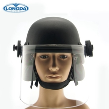 High quality professional design police bulletproof helmet with visor