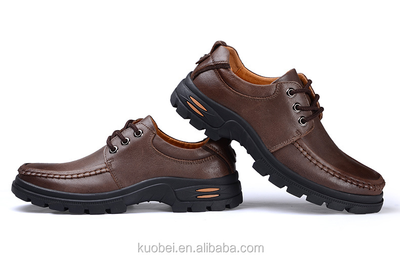 wholesale casual shoe men brand name leather shoes fashion Dress Shoes