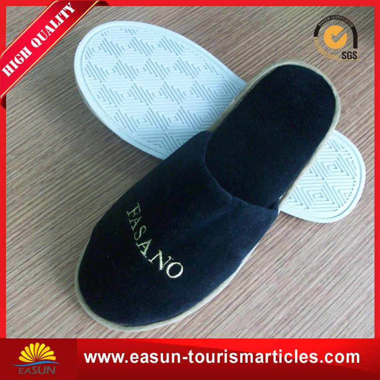 Low price doctor slipper nonwoven slippers for airline hospital slippers supplier