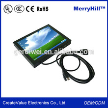 "Desktop/ Wall Mounted/ Embedded Small Size 10"" Flat Screen/10 Inch LCD TV Monitor"