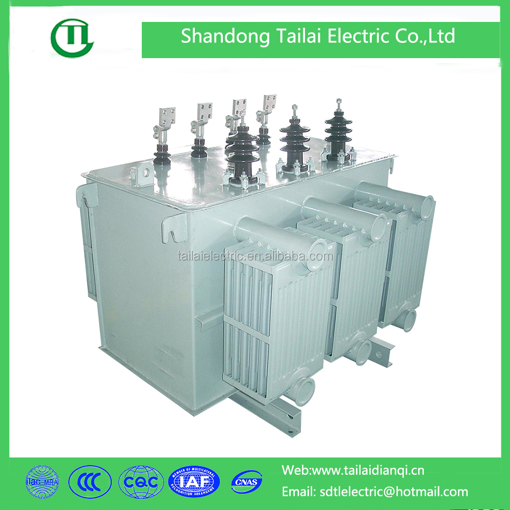 Encapsulated amorphous core 100kva three phase power transformer