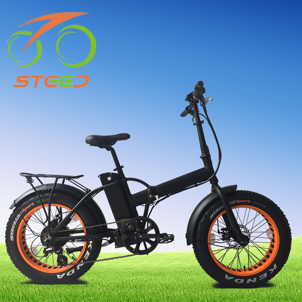 portable 20 inch folding ebike 48v with fat tire
