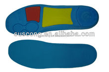 foam shock proof sports Arch suppot and long-lasting comfort insoles Antibacterial and wick offs the moisture