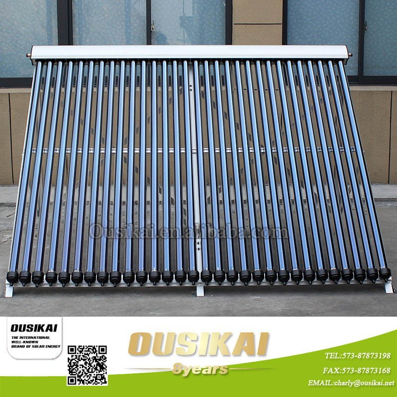 High Quality Thermosyphon Solar Collector with heat pipe for split solar water heater