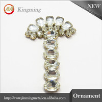 Popular Crystal Decoration Shoe Beading Ornament