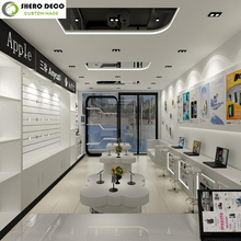 innovative electronic product display showcase for electronic shop decoration