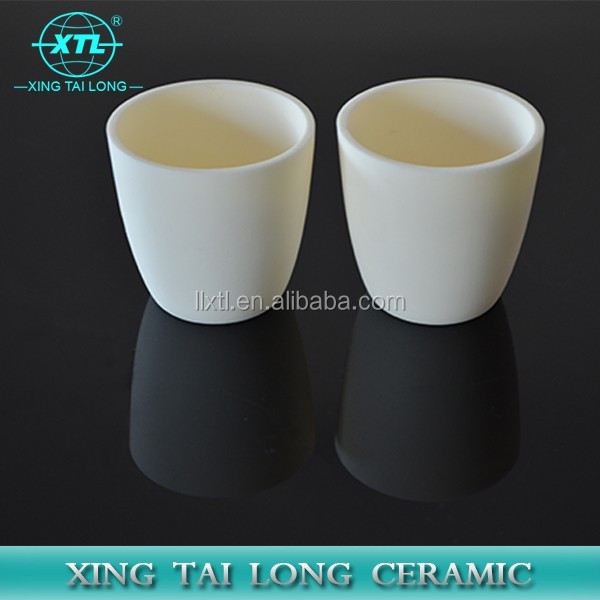 High temperature melting metal assaying ceramic fire clay crucibles