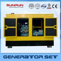 soundproof enclosed type Chinese engine 10kw silent diesel generator