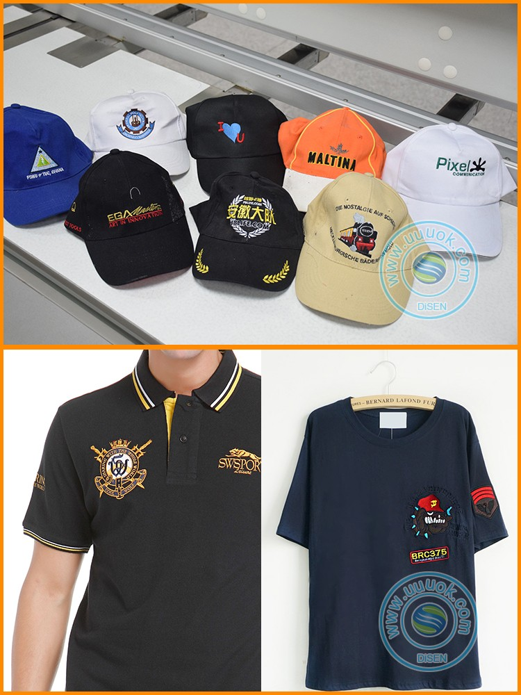 Industrial commercial chenille socks football boots shoes t shirt 3d snapback hat flat computer 6 head embroidery machine price