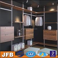 Best selling aluminum profile wardrobe walk in closet for modern bedroom design