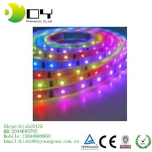 flexible led strip SMD5050 14.4W/M 60LEDs/M silicone tube waterproof IP65 DC12V DC24V