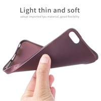 top quality leather phone pouch for iphone 6s soft case