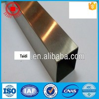 stainless steel welded square hollow inox tube piping 304
