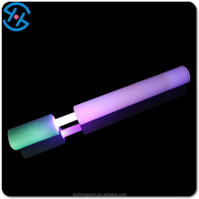 led light Toy Style and Water Gun Type Sponge Foam Water Gun for summer night decoration