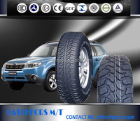 M/T and A/T high quality radial UHP 4X4 passenger car tires 31X12.50R15LT