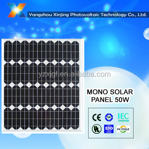 High Quality And Power Solar Panels For 45-50