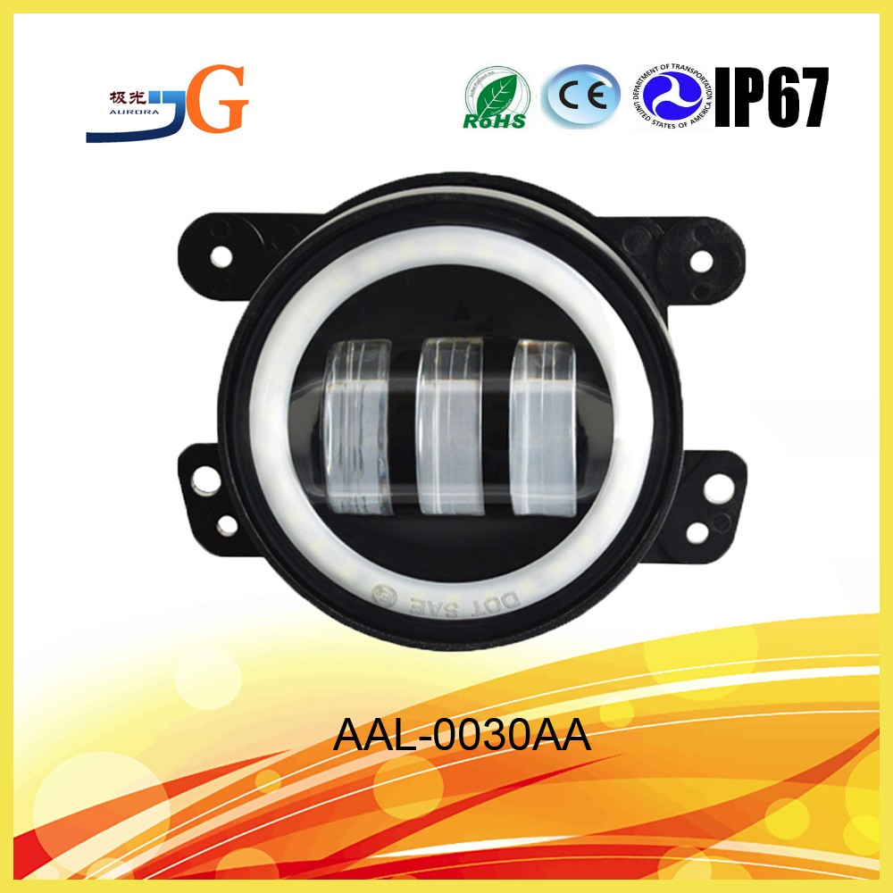 Renault Duster 30W Led Fog Light With Drl,Turning Light Function For Wrangler
