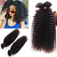 Philippines virgin hair kinky curly cheap price unprocessed human hair extensions for black women