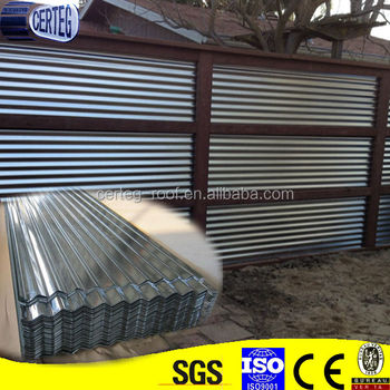Galvanized Fence Panel/galvanized Roof Sheet/metal Material