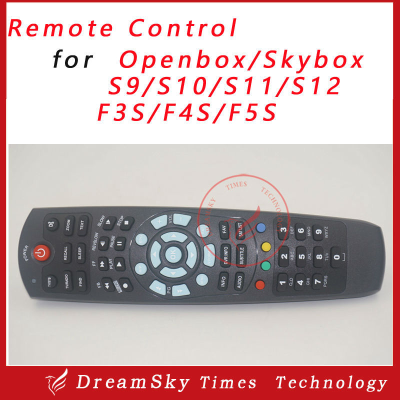 Digital satellite receiver Remote control for OPENBOX S9 S10 S11 S12 F3S F5S F4S,S F5S HD PVR