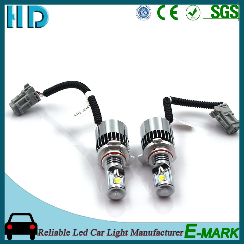 h7 9012 brand name led auto motorcycle led headlights light bulb for cars