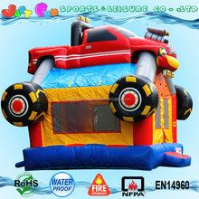 commercial inflatable monster truck bounce house for sale