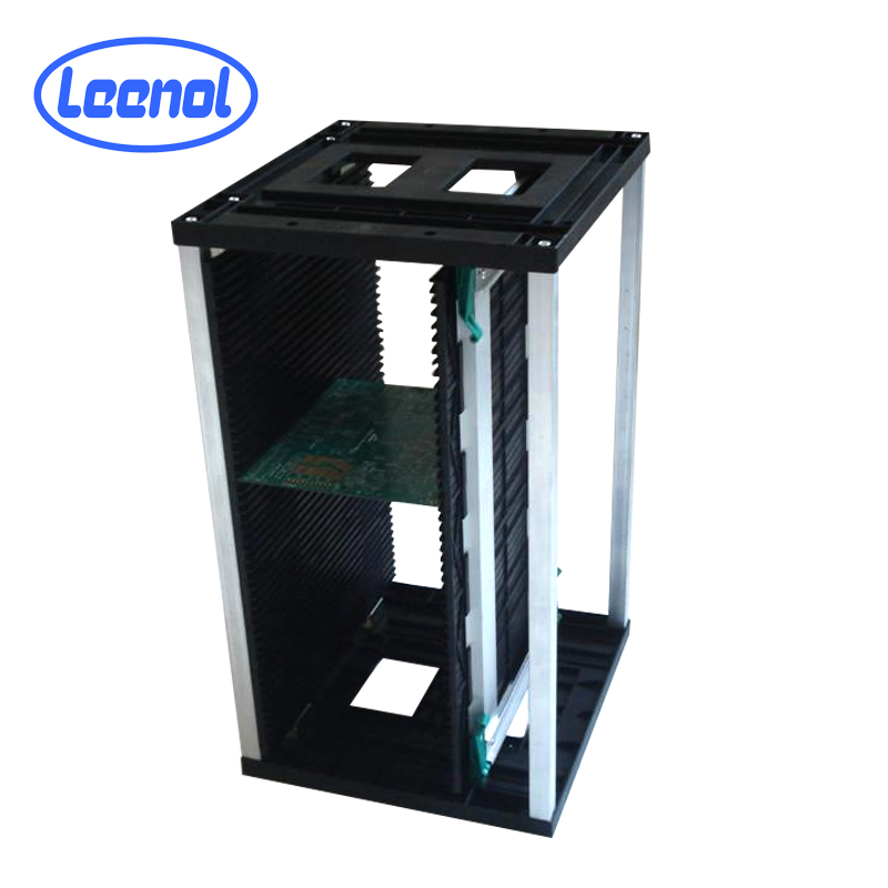LN-B804 Electronic PCB Storage <strong>Rack</strong> Adjustable Magazine SMT <strong>Racks</strong>