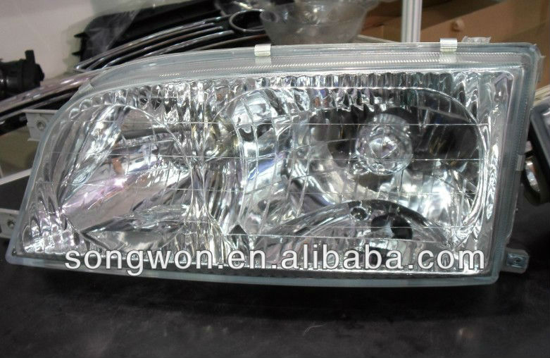 Auto spare parts Mercedes-Benz MB100 Auto body parts L 6618207461/ R 6618207561 Benz Head lamp Clear Crystal Diamond Headlights