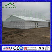 W9 temporary waterproof aluminum structure prefabricated warehouse storage tent for sale