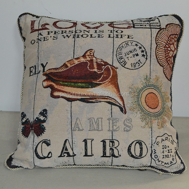 Ocean Themed decorative pillow cover