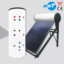 China Leading water tank manufacturers solar boiler solar water heating system for home