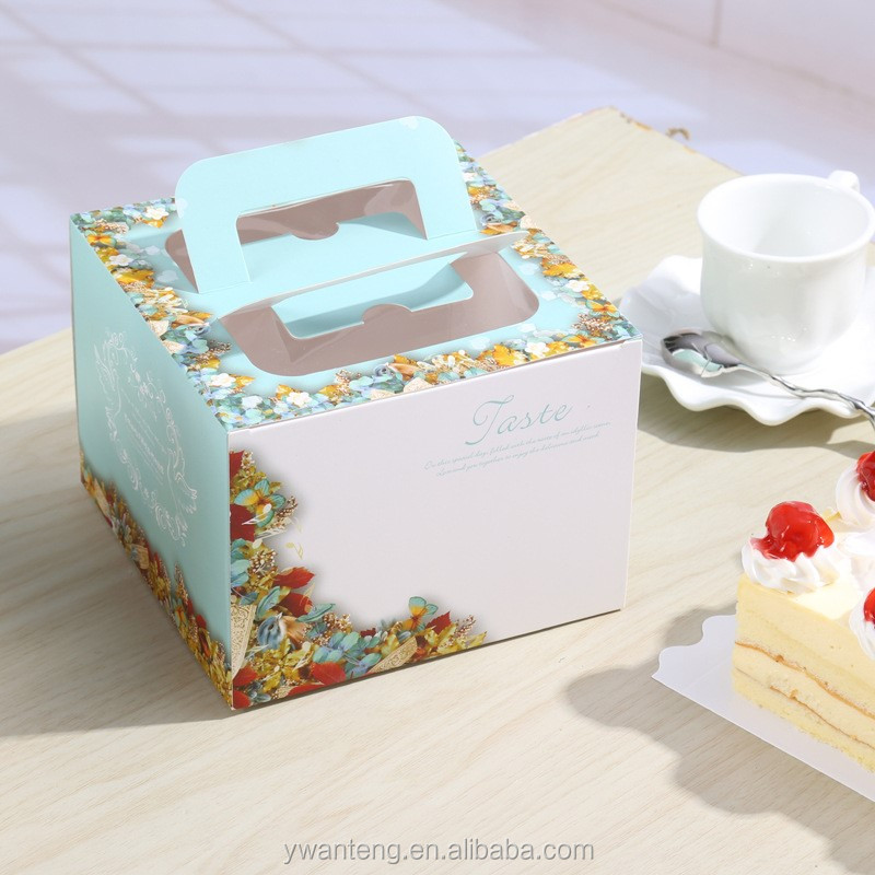 2017 Customized Disposable Cheap Wedding Favors Box Wedding Cake Box