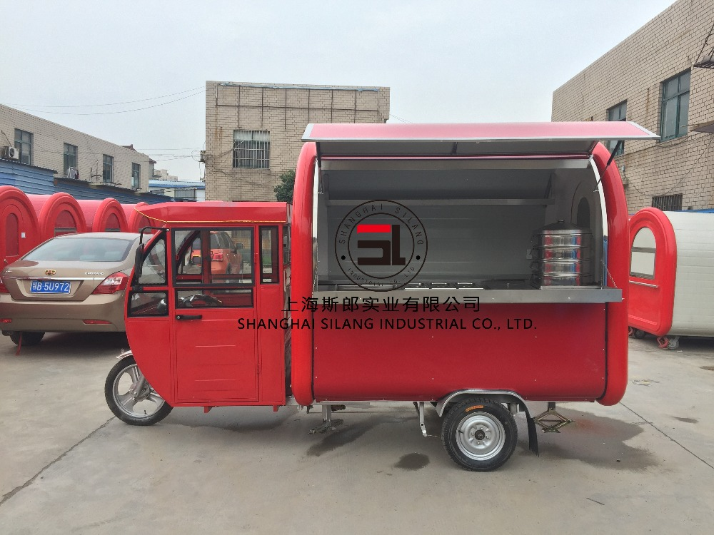 manufacturers electric Food car / new mobile kitchen / mobile trailer