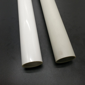 Manufacturer price professional customized hard plastic extrusion round pvc plastic pipes