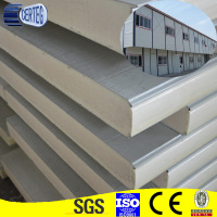 European Standard Tianjin 30mm thick roof Pu Polyurethane Sandwich Panel