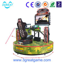 Arcade Cannonball Run electronic shooting target game machine
