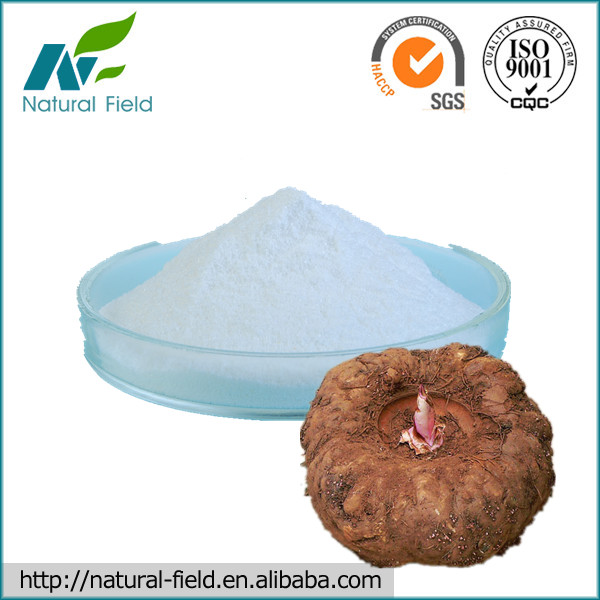 High Quality Konjac Glucomannan Powder Manufacturer