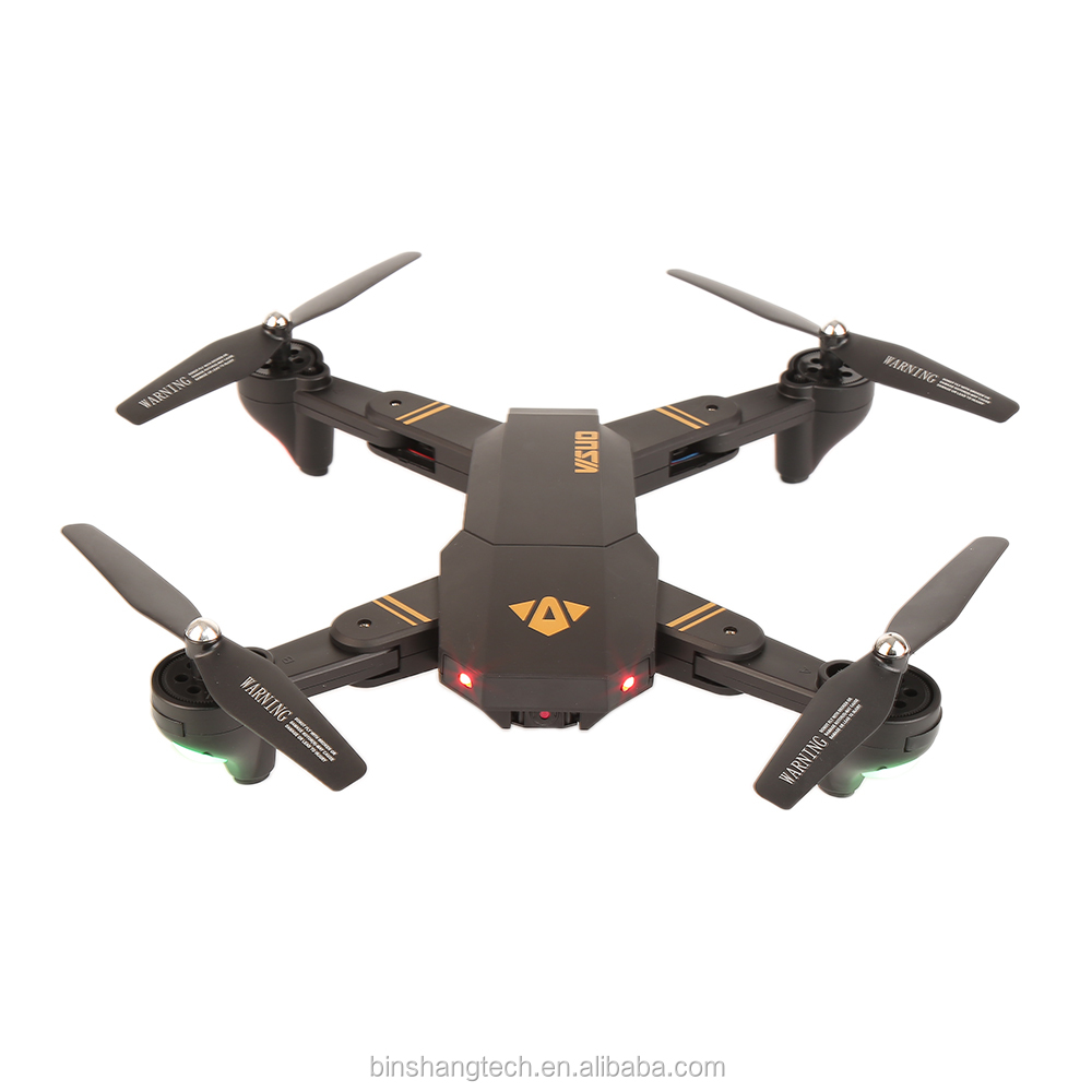 XS809WH Ariel photography folding quadcopter 2.4G RC drone with WiFi Camera