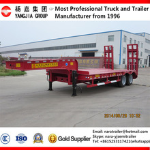 Heavy duty 3 axle low bed trailer lowbed semi trailer