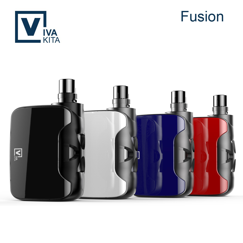 Vivakita box mod and tank child-lock design e-cigarette v w mod 50w vaporizer box mod kit