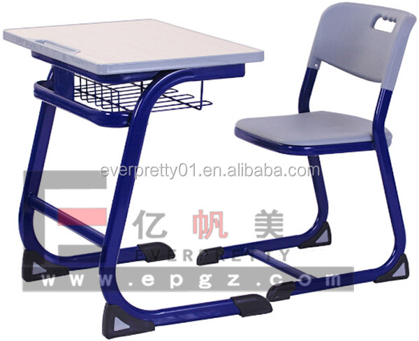 Modern School Furniture School Single Student Table Chair Indian School Furniture