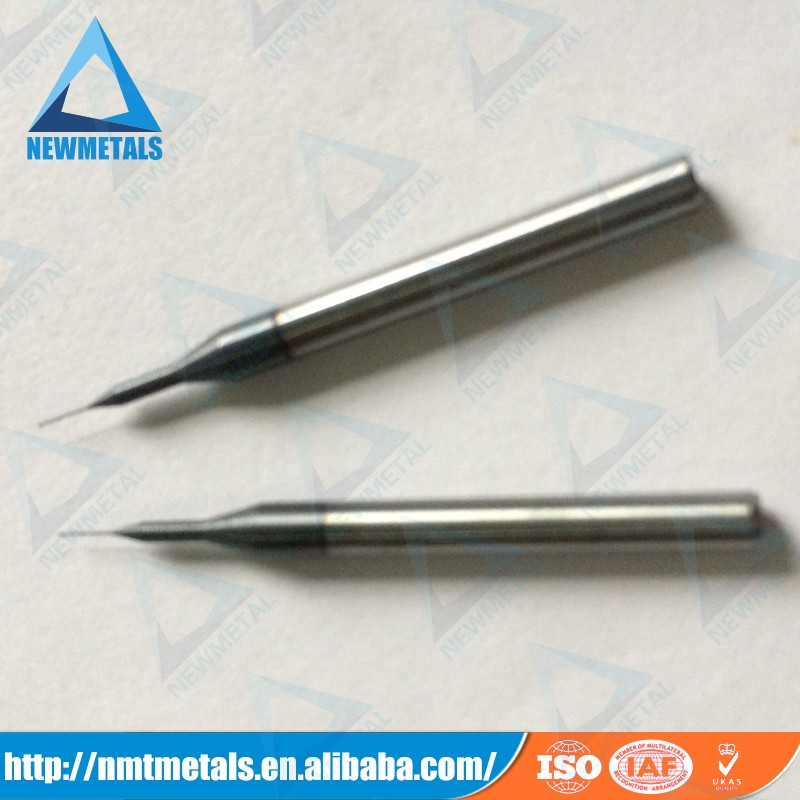 0.19mm solid carbide micro end mill/ultra fine end milling cutting tools