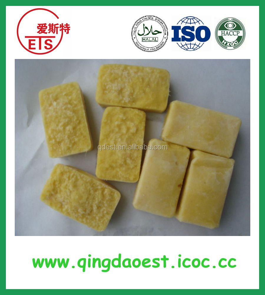 Frozen ginger puree use fresh mature ginger for cooking delicious food from reliable ginger factory supplier for Malaysia market