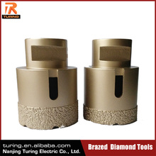 High Quality Brazed Diamond Hole Saw For Glass