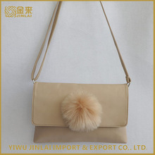 Eco-friendly recyclable imitation leather ladies bag