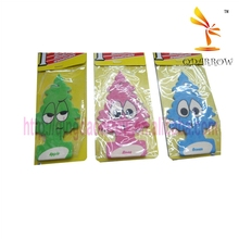 Cute design hanging paper car perfume for gift